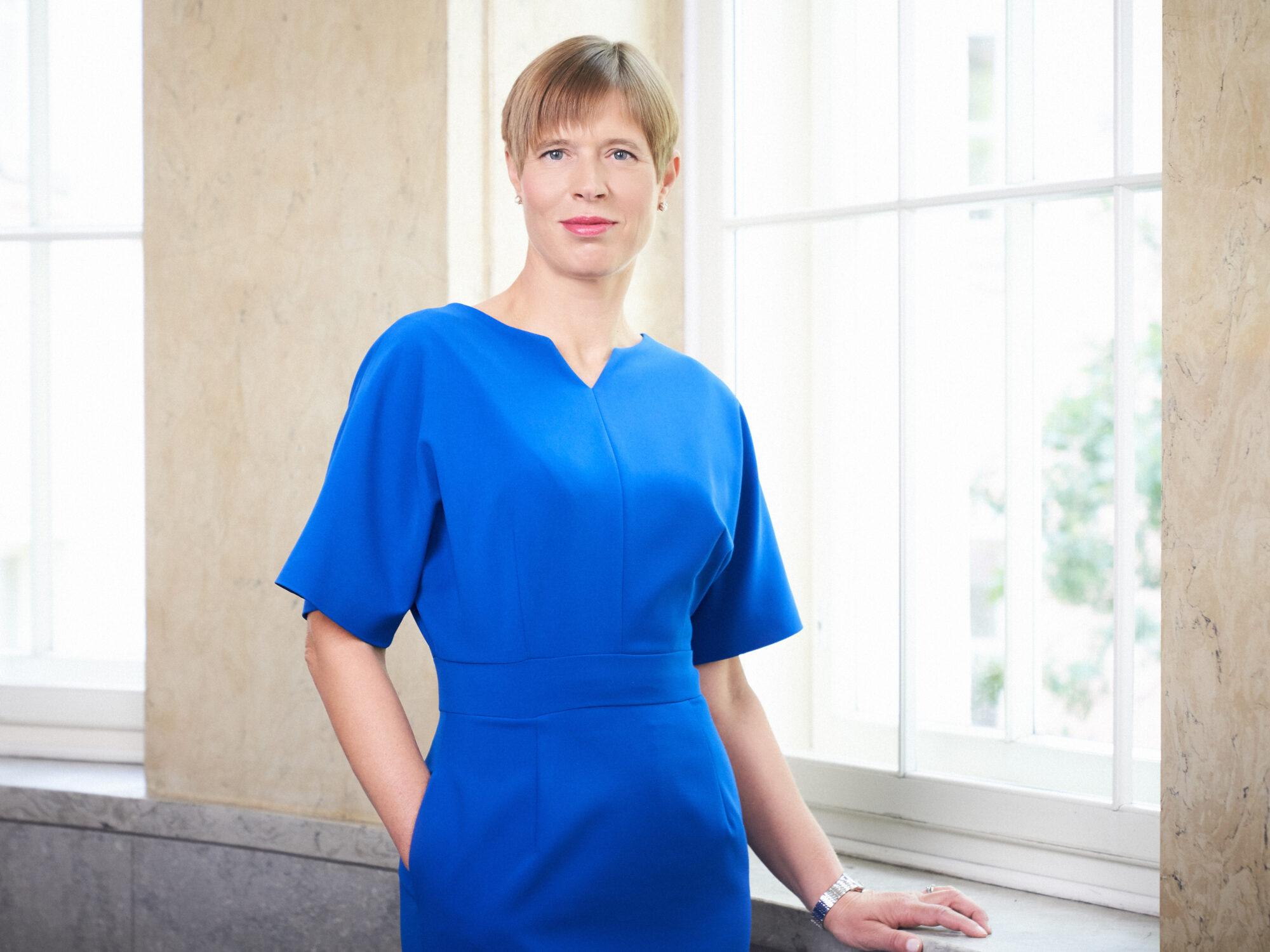 President Kersti Kaljulaid Rohetiiger esindusorganisatsiooni avaüritus